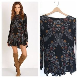 Free People Smooth Talker Tunic Raven Dress!
